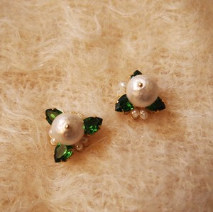 Cotton Pearl Pierce (GREEN)