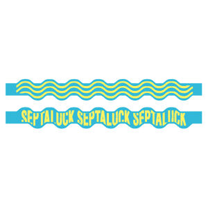 SEA WAVE RUBBER BAND  Skyblue
