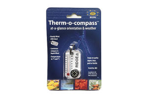SunCompany Therm-o-compass RIDGE MOUNTAIN GEAR Ver.White