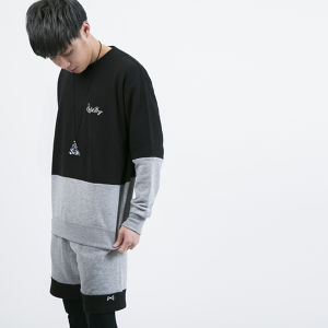 Cross Cut Sweat	Black