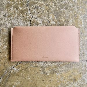 Recycled Leather Envelope Wallet
