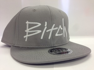 Bitch Cap - Snapback Gray