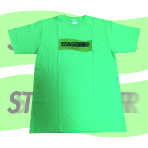 STAGGER T-Shirts (Lime)