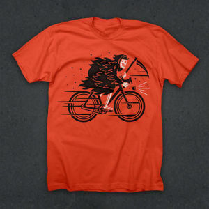 TwinSix Tシャツ REAP WHAT YOU ROLL T (ORANGE)