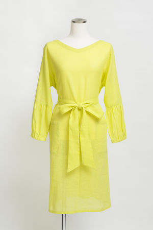 KAREN-COTTON&LINEN-/Yellow(TT1917-10)