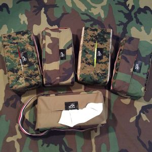 army tissue case