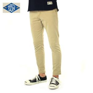 016007009(GENERAL EDGED TROUSERS)BEIGE