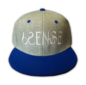 【6SENSE】 SNAP BACK(BLUExHeather GRAY)