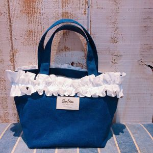 Fluffy bag(Navy)