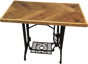 Original Sewing Machine Table [HERRINGBONE] 1