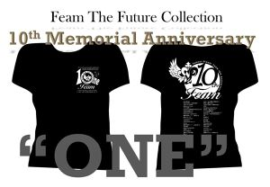 "10th Anniversary""ONE"" 記念Tシャツ"