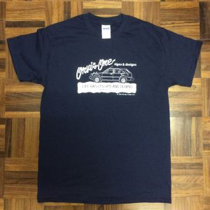 ORVIS ONE signs & designs オリジナルTシャツ WORK WITH CIVIC