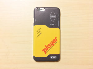"""iPhone case """"Player"""""""