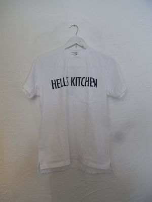 Engineered Garments(エンジニアド ガーメンツ)2016SS Printed Cross Crew Neck T-Hell's Kitchen