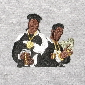 "Stitch by Stitch ""Paid In Full"" Sweat 8oz"