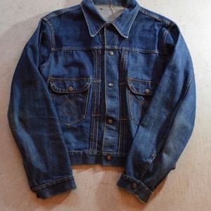 ~1960s Montgomery Ward 101 Vintage Denim Jacket!!