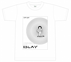 『ISLAY』T SHIRTS(2016 FALL)