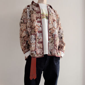 Vintage cats tapestry jacket