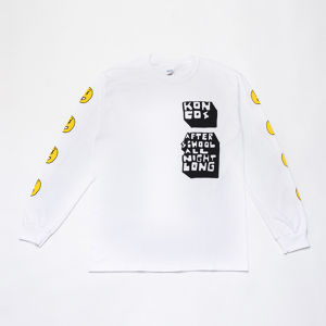 KONCOS AFTER SCHOOL L/S TEE [White]