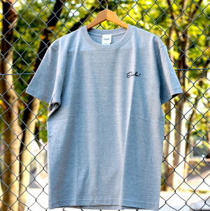 LOGO T-SHIRT 【GRAY】