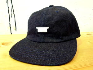[ 坩堝 ] DENIM OG 6PANEL CAP