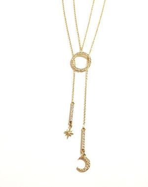 LariatNecklace/Moonlight 【50%OFF】