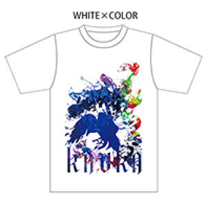 OFFICIAL T-shirts【WHITE×COLOR】