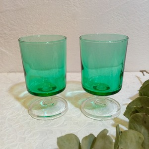 "70's Vintage Glass ""Luminarc""  from FRANCE [GV-8]"