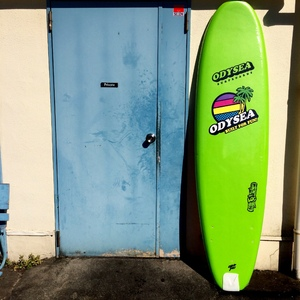 "SOLDOUT CATCHSURF""ODYSEA7'0""蛍光GRN/RAINBOW"