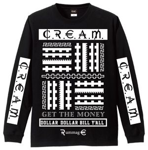 CREAM_long sleeve_T black