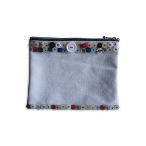BUTTON POUCH  [DENIM NV]