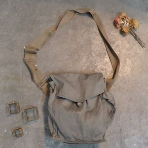 70's French Military Shoulder Bag