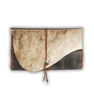 Harako brown clutch