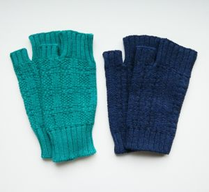 yoshiko 春の色いろアームウォーマー*Arm warmer 'Any color as you like!' by yoshiko