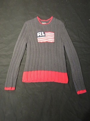 90's POLO JEANS CO. Cotton Sweater