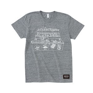 BURITSU BOX Tee : Gray