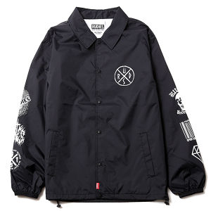 "RUDIE'S / ルーディーズ  | 【 Sale 20%off 】 "" CONFUSE COACH JACKET "" Black"