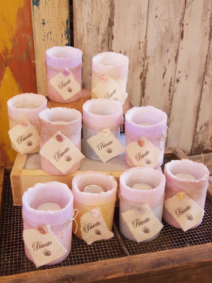 welcome candle 8set【オーダー商品】