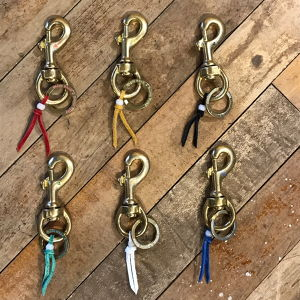 Button Works Key Ring