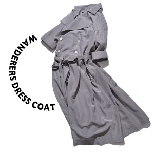 Wanderers dress coat [Gray]