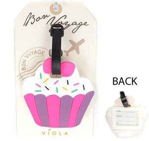 Luggage TAG - cup cake - (61-0007)