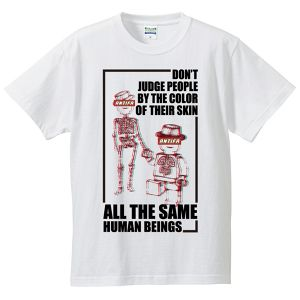 ALL THE SAME HUMAN BEINGS【FULL COLOR / T-SHIRT】