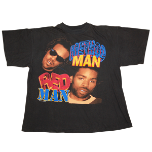 """Method Man & Redman / How High"" Vintage Rap tee Used"
