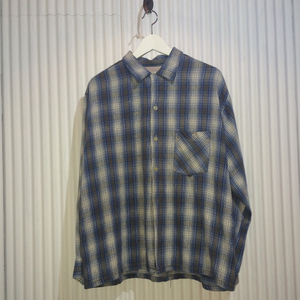 50's Check Flannel Shirt