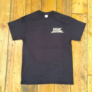 FEELIN' FELLOWS TEE (BLACK)