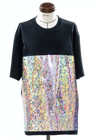 Hologram Dot Big T-shirt