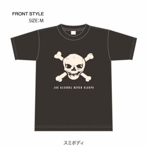 ご予約商品 特典バッチ付き JOE ALCOHOL NEVER SLEEPS 4,0oz T-shirts col.chaco