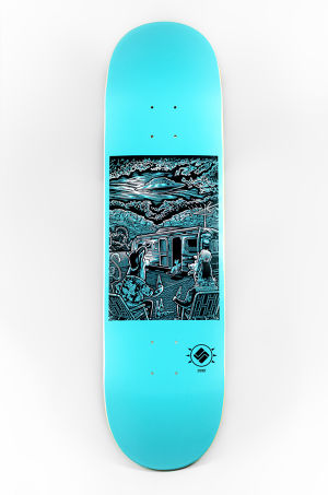 "Science Skateboards  ""Visitors"" - Matthew Greeen."