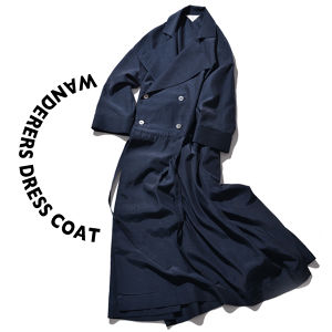 Wanderers dress coat [Navy]