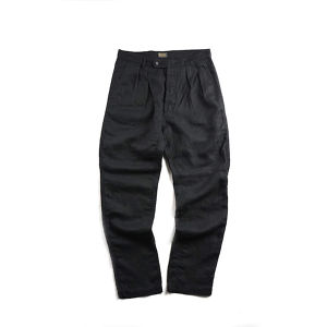 50' FRENCH 2TAC WORK PANTS  (BLACK)